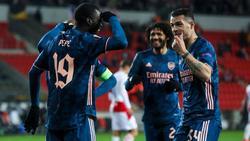 Der FC Arsenal setzte sich in der Europa League gegen Prag durch
