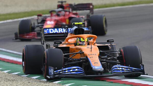 McLaren hatte in Imola die Nase vor Ferrari
