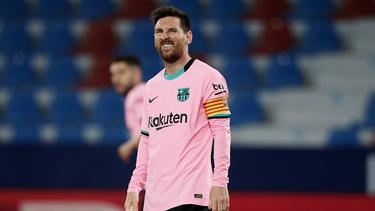 Lionel Messis Tor reichte dem FC Barcelona nicht