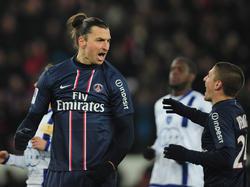 PSG zlataniert auch gegen Bastia