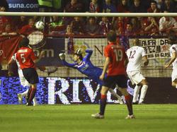 Spanisches UEFA Pokal-Halbfinale 2006/2007: CA Osasuna - FC Sevilla