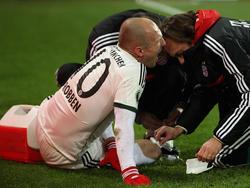 Für Arjen Robben ist das Fußball-Jahr gelaufen.