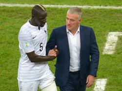 Mamadou Sakho; Didier Deschamps