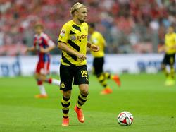 Marcel Schmelzer stand gegen Bayern in der Startelf