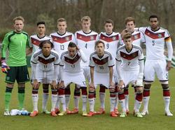 Deutsche U19 im März 2015