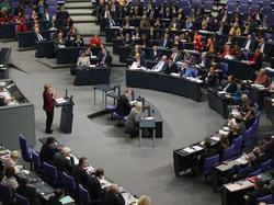 Plenarsitzung des deutschen Bundestag