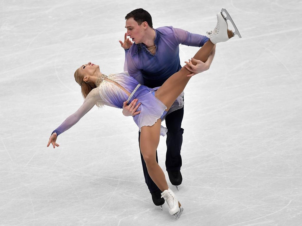 Aljona Savchenko lief gemeinsam mit Bruno Massot den Winter ihres Lebens