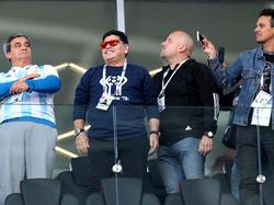 Immer im Fokus: Fußball-Legende Diego Maradona