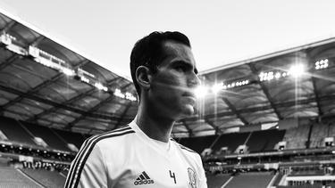 Rafa Márquez durante su quinto Mundial, esta vez en Rusia. (Foto: Getty)