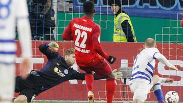 Der SC Paderborn steht im Viertelfinale des DFB-Pokals