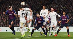 El Madrid hizo mejor tiempo y el Barça mejoró tras el descanso. (Foto: Getty)