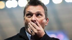 Christian Heidel (r.) spricht über seine Zukunft beim FC Schalke 04
