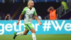 Beim 4:0-Sieg gegen FC Bayern München erzielte Pernille Harder zwei Treffer