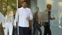 Iker Casillas verlässt das Krankenhaus