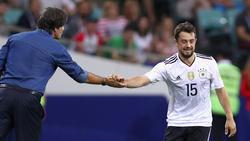 Amin Younes hat bisher fünf Mal für die deutsche A-Nationalmannschaft gespielt