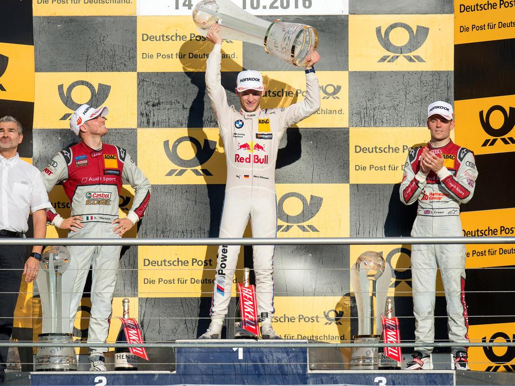 Marco Wittmann sicherte sich zum zweiten Mal den Titel in der DTM