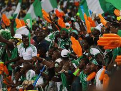 Fans genießen die Spiele beim Afrika Cup