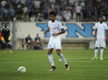 Luiz Gustavo salió de inicio en los marselleses. (Foto: Imago)