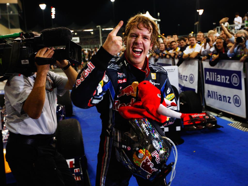 Sebastian Vettel kürte sich 2010 erstmals zum Weltmeister
