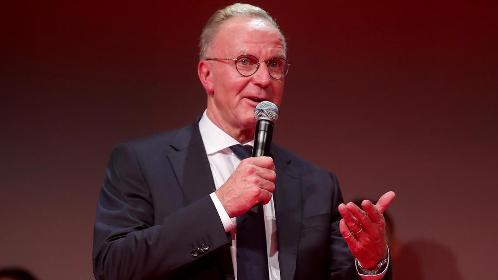 Karl-Heinz Rummenigge lobt den BVB