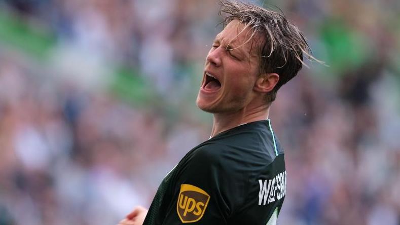 Will in die niederländische Nationalmannschaft: Wout Weghorst. Foto: Peter Steffen