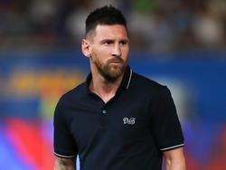 Messi sigue de baja por la lesión.