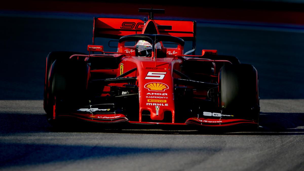 Vettel wurde 2018 nach einer Berührung mit Max Verstappen Sechster