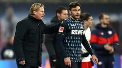 Jonas Hector (r.) hofft auf ein Ende der Krise beim 1. FC Köln