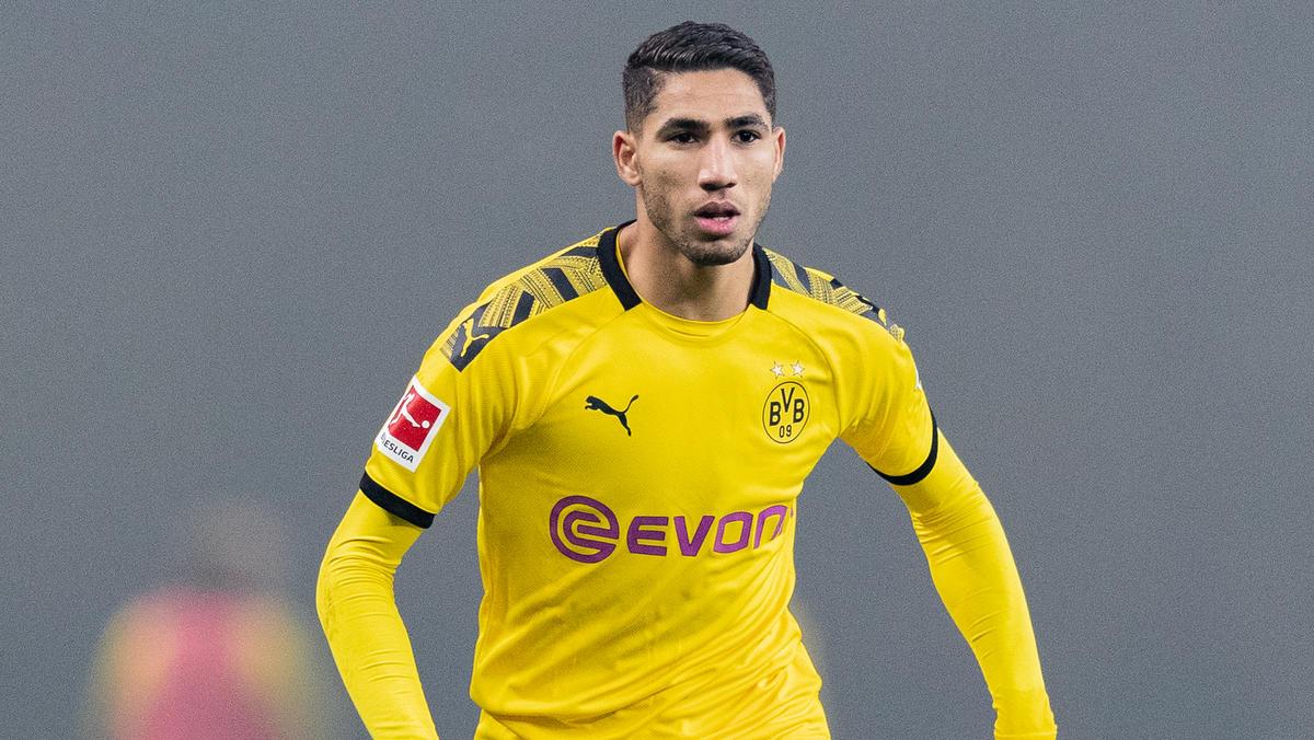 Achraf Hakimi ist der schnellste Spieler im BVB-Kader