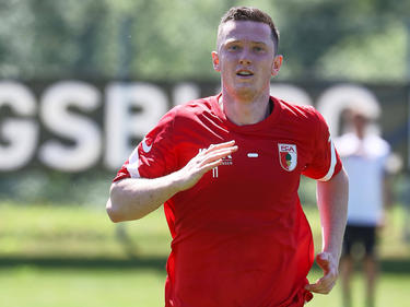 Michael Gregoritsch greift beim FC Augsburg wieder voll an
