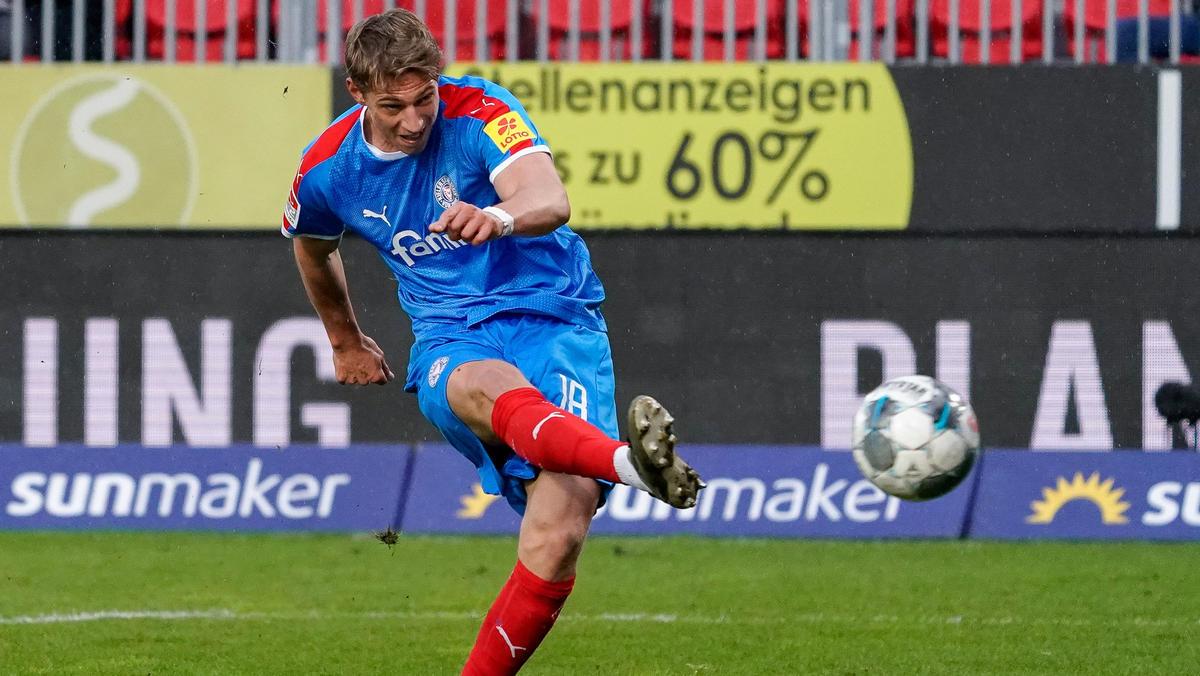 Lion Lauberbach soll das Interesse des FC Bayern geweckt haben