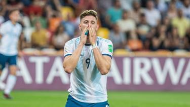Adolfo Gaich ist argentinischer Nationalspieler