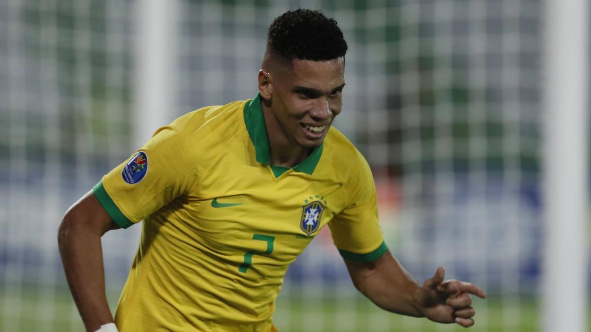 Paulinho erzielte den Siegtreffer für Brasilien