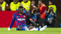 Ousmane Dembélé kommt bei Barca nicht in Tritt