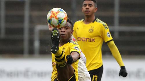 Youssoufa Moukoko erzielte seinen nächsten Doppelpack für den BVB