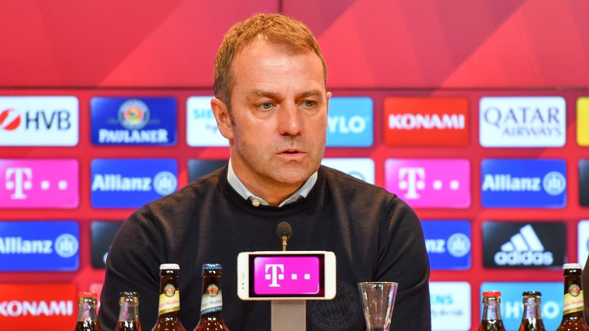 Hansi Flick trifft mit dem FC Bayern auf den 1. FC Köln