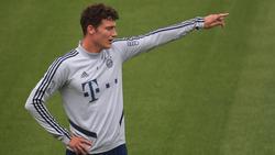 Benjamin Pavard spielt seine erste Saison beim FC Bayern