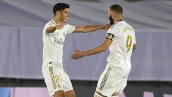 Asensio marcó su segundo gol tras una larga lesión.