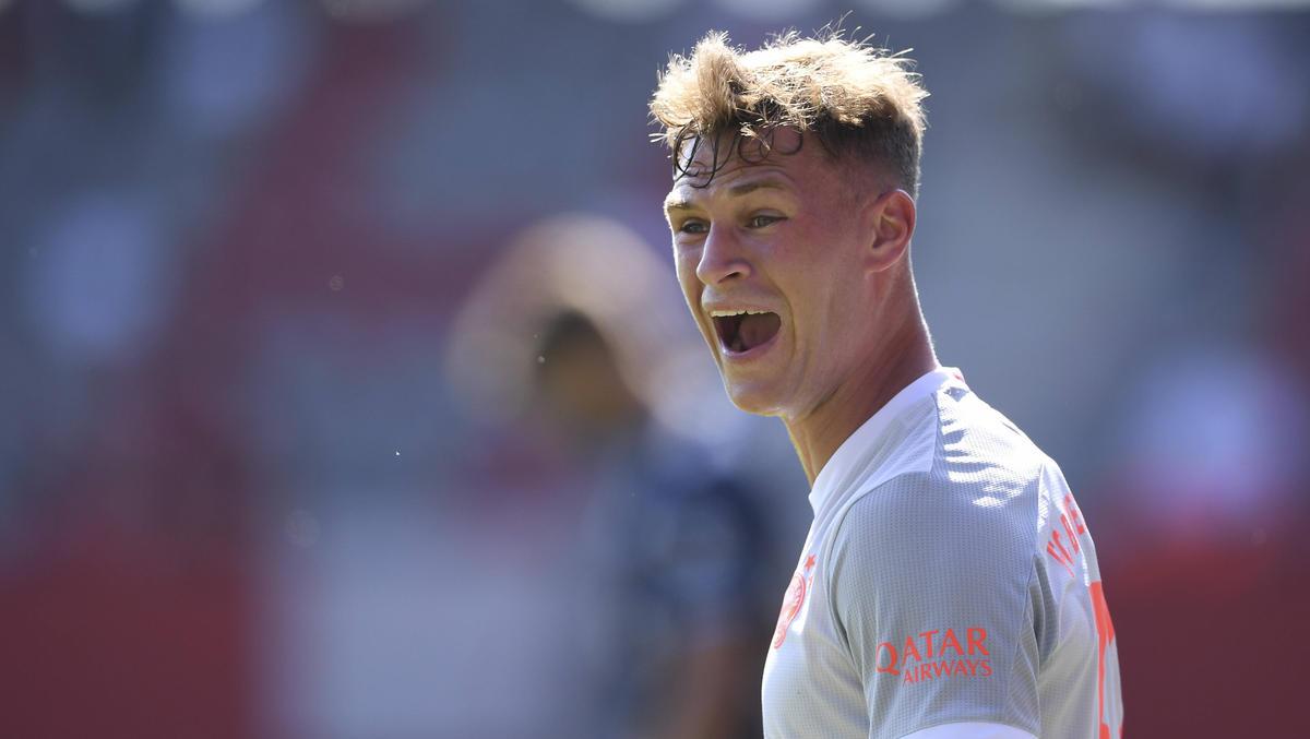 Joshua Kimmich will noch nichts von einem Durchmarsch des FC Bayern wissen