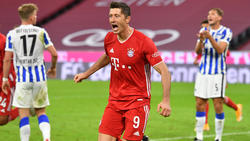 Robert Lewandowski ist der Torgarant des FC Bayern
