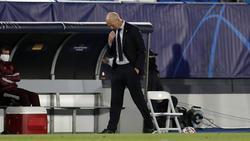 Zinédine Zidane hadert mit seinem Coaching gegen Donezk