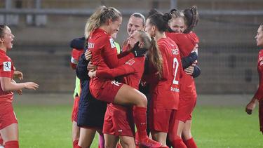 Potsdams Frauen siegten gegen Frankfurt