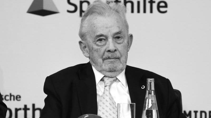Walther Tröger ist tot