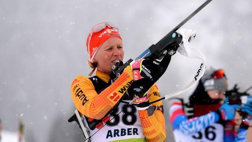 Franzi Hildebrand wurde im Einzel-Wettkampf nur 16.
