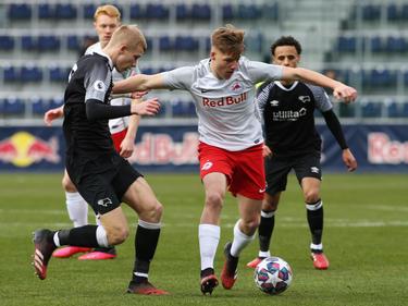 Alexander Prass, hier für Salzburgs Youth-League-Team im Einsatz, wechselt nach Graz