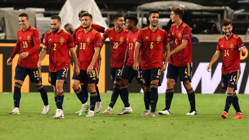 Bei den Spaniern geht es vor dem Turnier drunter und drüber