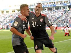 El Bayern ganó en el último suspiro a un combativo Hamburgo. (Foto: Getty)