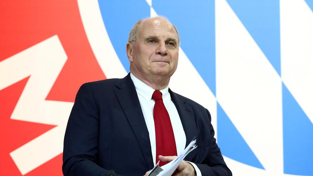 Uli Hoeneß ist seit Ende 2016 Präsident des FC Bayern München