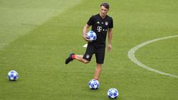 Niko Kovac kann gegen Schalke wieder auf Thiago zurückgreifen