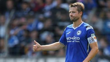 Stellt sich dem Dialog mit den Fans: Arminia-Kapitän Julian Börner